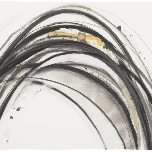 菊地武彦 線の形象2020-14(ドローイング)