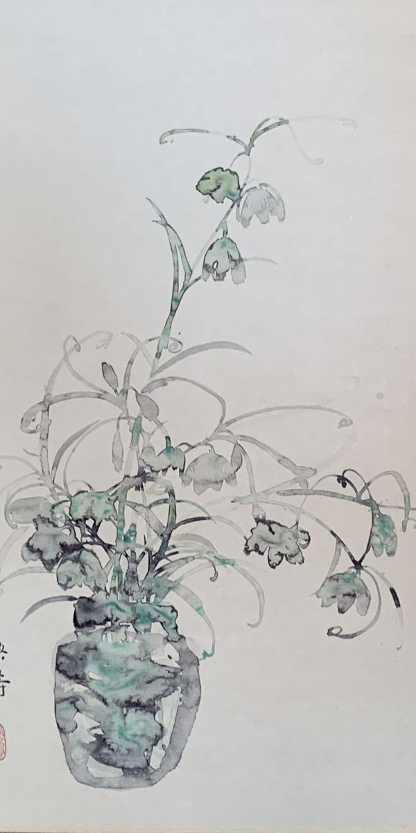 新倉章子 母とふ花