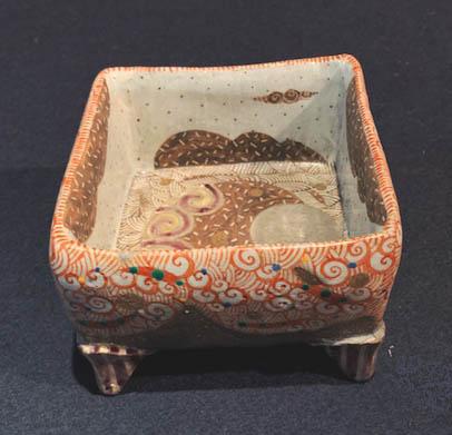 苧坂恒治  「赤彩文角鉢」