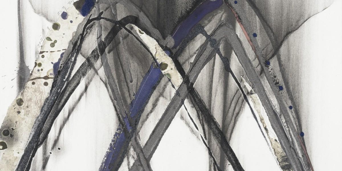 菊地武彦 線の形象 2021-9(drawing)