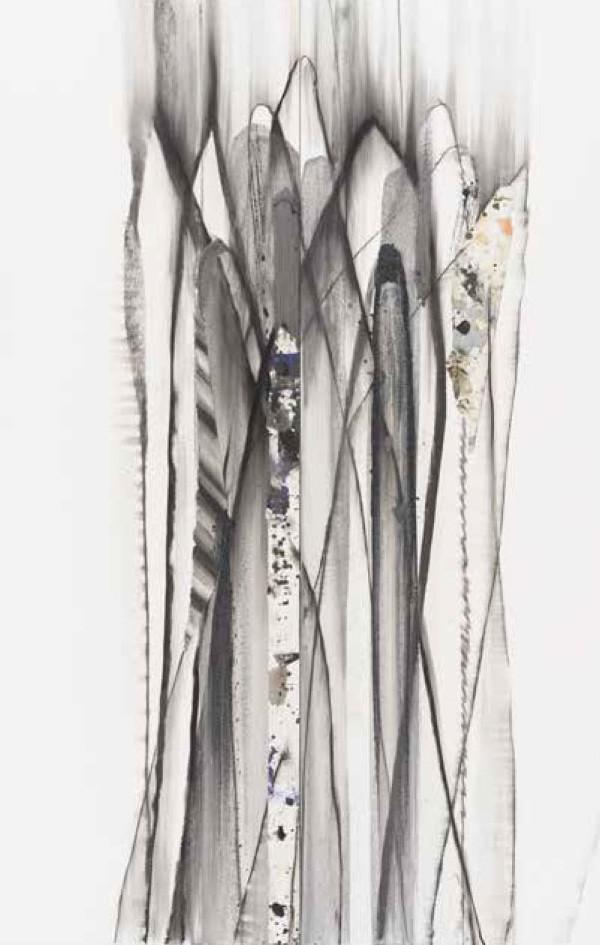 菊地武彦 線の形象 2021-11(drawing)