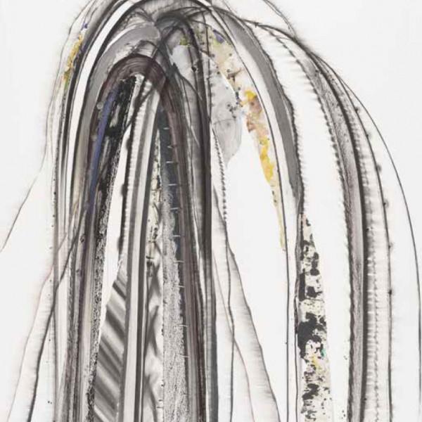 菊地武彦 線の形象 2021-6(drawing)